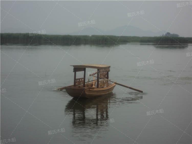 衡阳水上观光手工木船 戴氏手工木船定制加工