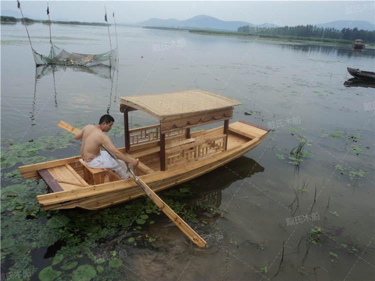 河池小型复古风景船 戴氏风景船厂家供应