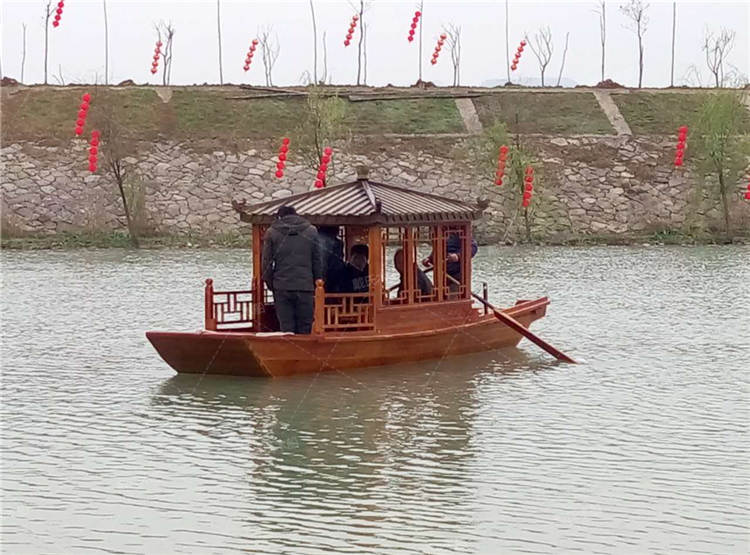 焦作旅游景观影视道具木船 戴氏影视道具木船加工定制