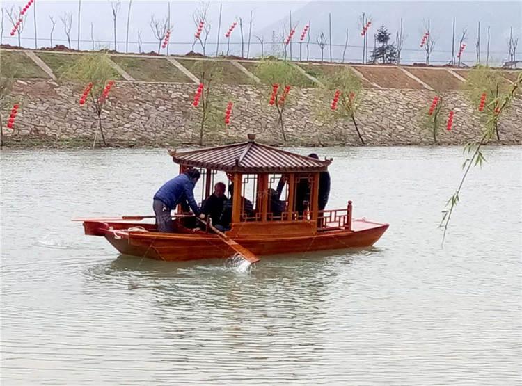 河池旅游景观江南木船 戴氏江南木船厂家供应
