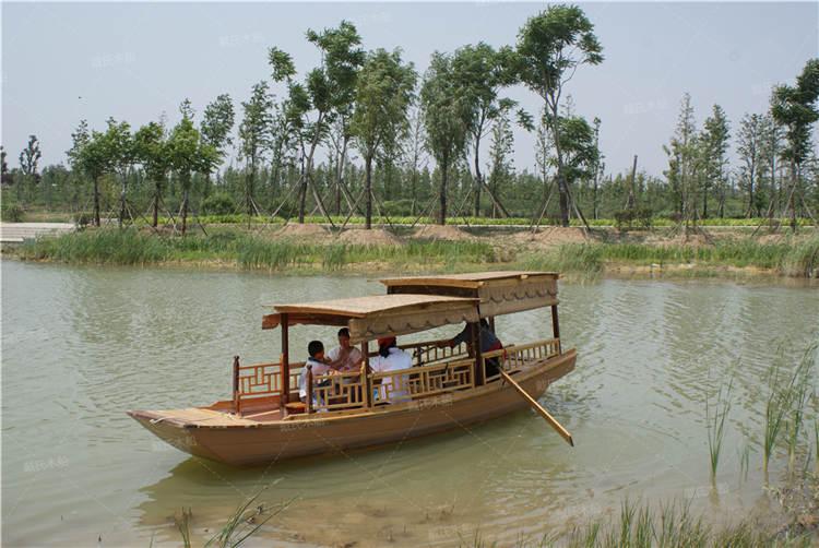 南阳旅游景观手工小木船 戴氏手工小木船加工定制