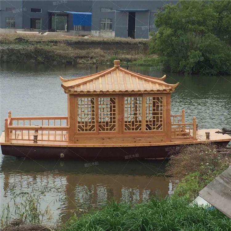 太仓旅游景观手工小木船 戴氏手工小木船现货销售