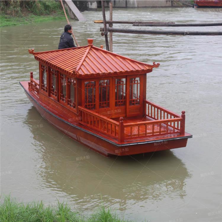 鹰潭影视道具水乡木船 戴氏水乡木船现货销售