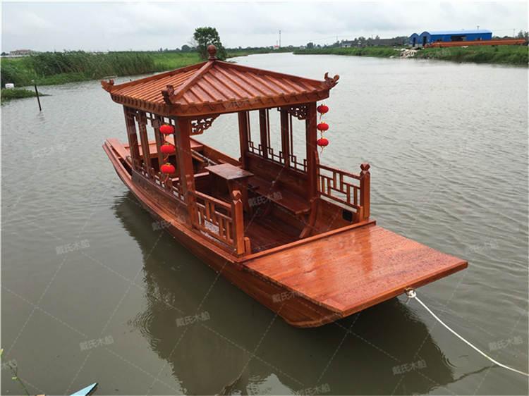 郴州景区复古观光船 戴氏观光船定制加工