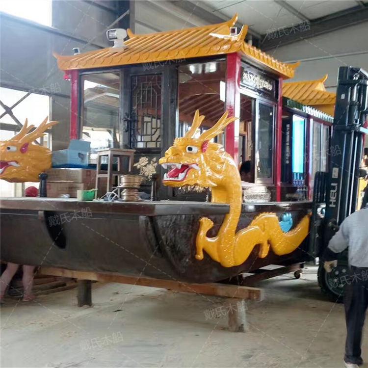 风景观光九江电动木船戴氏电动木船销售