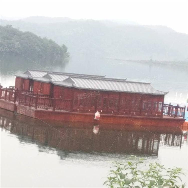 10米攀枝花电动木船戴氏电动木船定制加工