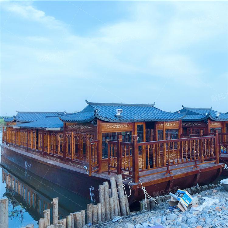 20米运城大型餐饮船戴氏大型餐饮船销售