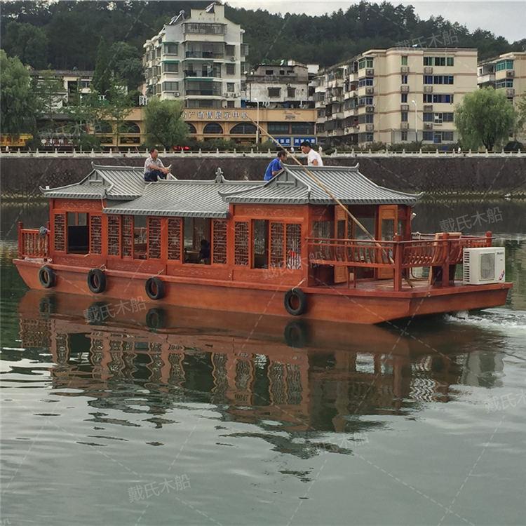 豪华兰州电动木船戴氏电动木船销售