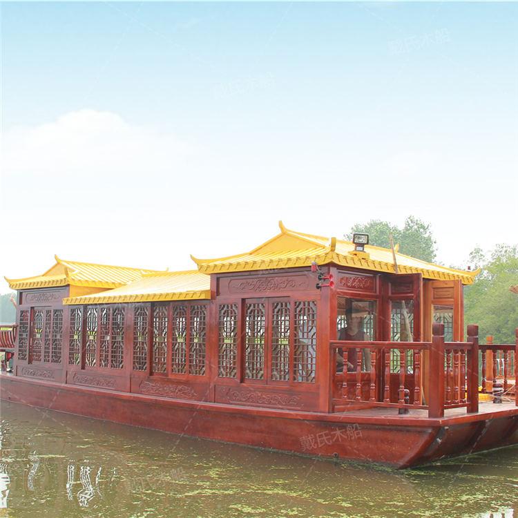 12米运城大型餐饮船戴氏大型餐饮船价格
