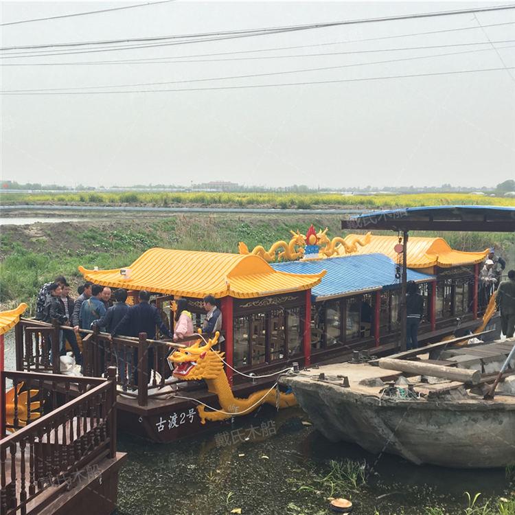 影视道具葫芦岛大型餐饮船戴氏大型餐饮船定制加工