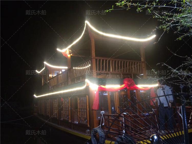 设计南昌大型餐饮船戴氏大型餐饮船销售