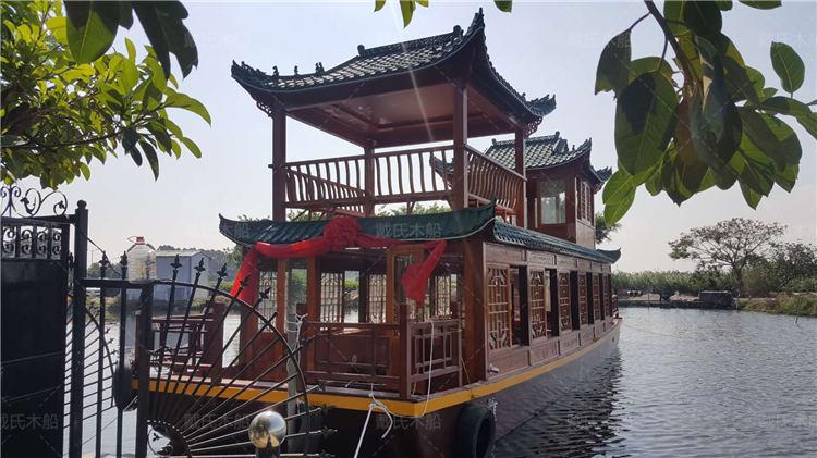 设计鹰潭画舫船戴氏画舫船公司地址