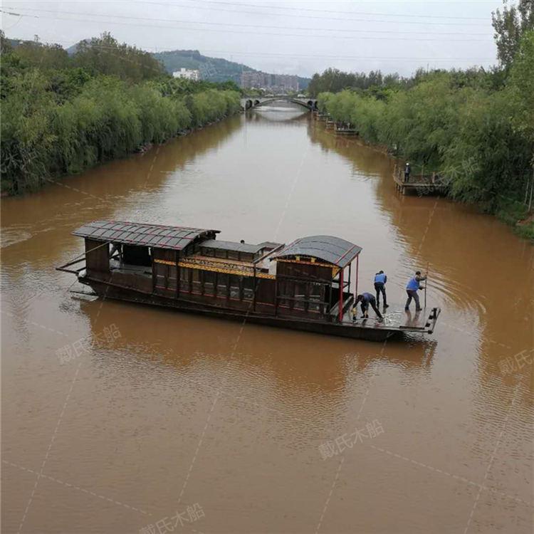 南湖红船厂家联系方式益阳木质南湖红船戴氏木船