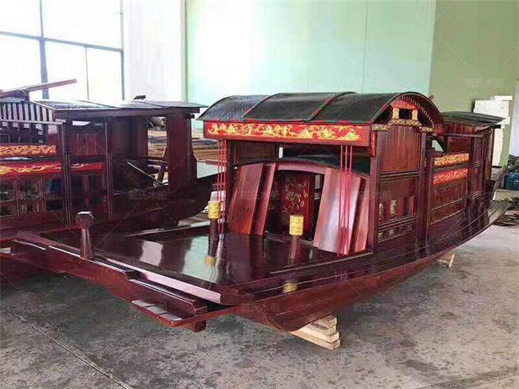嘉兴红船公司电话黄山16米嘉兴红船戴氏木船