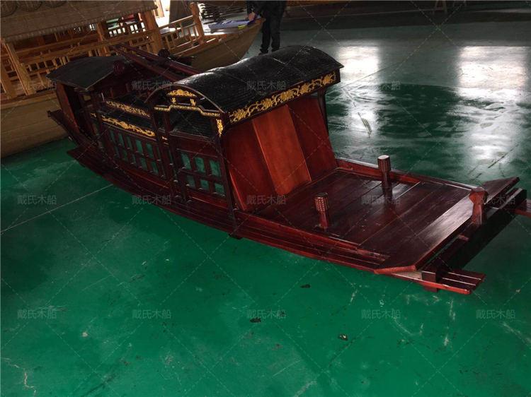 红船生产厂商鹰潭大型红船戴氏木船