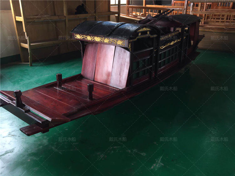 红船厂家联系方式常州景观红船戴氏木船
