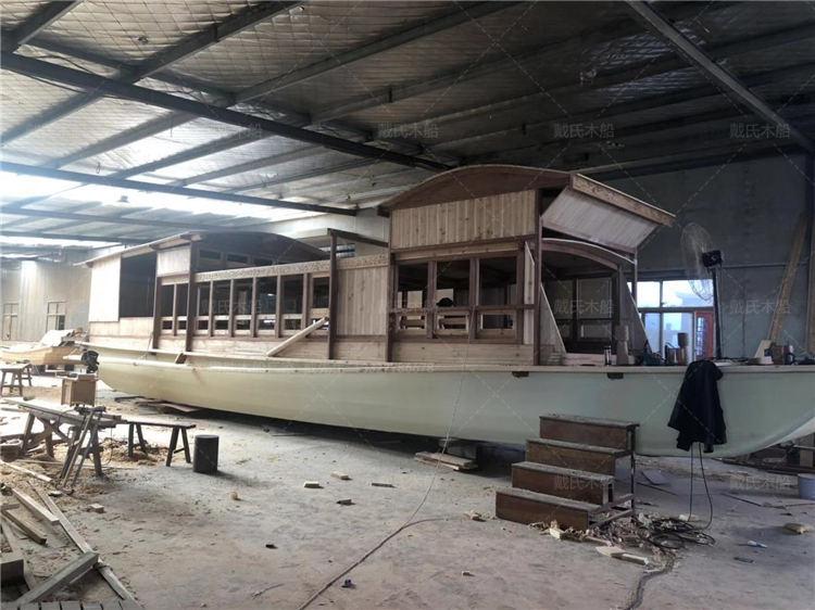 红船价格洛阳生态观光园红船戴氏木船