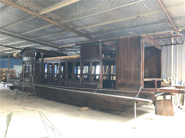 南湖红船销售石嘴山豪华南湖红船戴氏木船