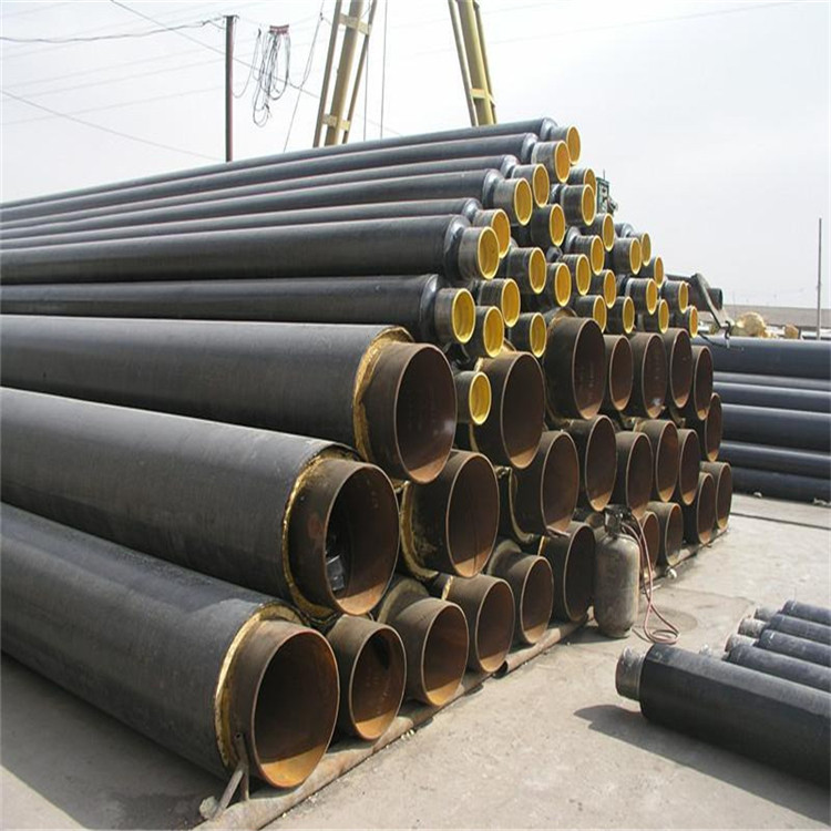黄山保温钢管耐高温发泡涂塑钢管冬季采暖