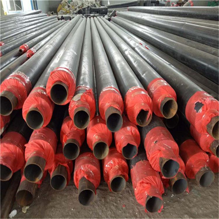 宁德直埋保温管硅酸铝瓦壳保温管厂家现货