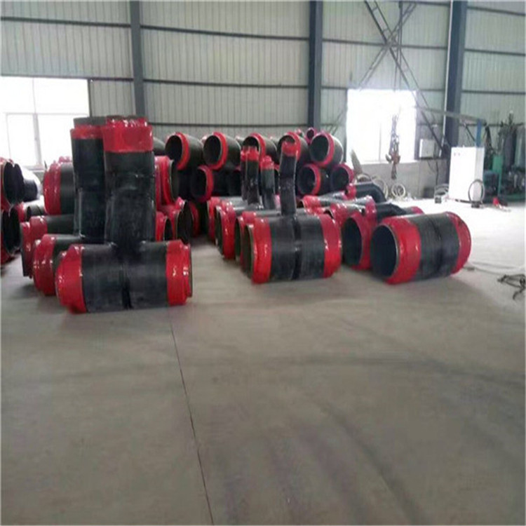 日喀则黑夹克聚氨酯保温管内滑动钢套钢保温管每米价格
