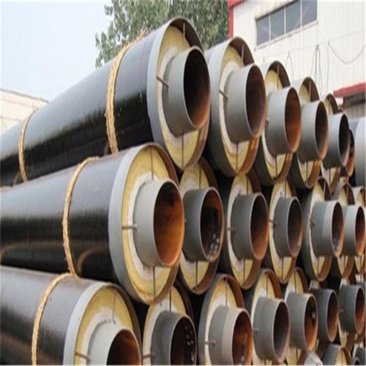 江门钢套钢预制直埋保温管硅酸铝防腐钢管每吨价格