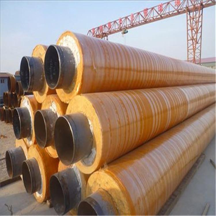 南昌IPN8710硅酸铝保温钢管硅酸铝瓦壳保温管冬季采暖