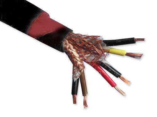 澄迈NH-KYJVP 交联聚乙烯绝缘阻燃聚氯乙烯护套铜丝编织屏蔽耐火控制电缆